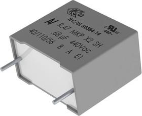 R474N24705001K, Конденсатор Безопасности, 47000 пФ, X2, серия R47 X2, 440 В, Metallized PP