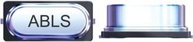 Фото 1/3 ABLS-16.000MHZ-B4-T, Кристалл, 16 МГц, SMD, 11.5мм x 4.7мм, 50 млн-, 18 пФ, 30 млн-, Серия ABLS