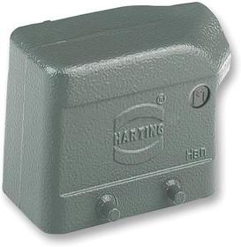 Фото 1/3 19300101521, Hood 10 Shell Size Powder Aluminum Die Cast
