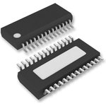 MAX3140EEI+, UART интерфейс, 1 канал, 10 Мбит/с, 4.75 В ...
