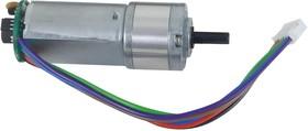 290-008, DC двигатель/редуктор, передаточное число 1:53, пользовательский, 6В, для Digilent Robot, 125об/мин