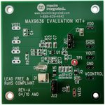 MAX9636EVKIT+, Evaluation Board, MAX9636 Operational Amplifier