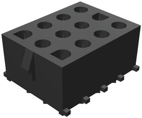 10-84-4122, Разъем типа провод-плата, 6.35 мм, 12 контакт(-ов), Штыревой Разъем, MLX 42002 Series