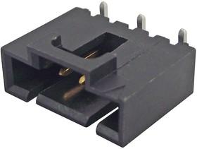 74099-1003, Разъем типа провод-плата, 2.54 мм, 3 контакт(-ов), Штыревой Разъем, SL 74099 Series