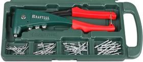 """31173-H6, Заклепочник с усиленным литым корпусом KRAFTOOL """"KraftSteel"""" для заклёпок d=2,4 / 3,2 / 4,0 / 4,8 мм"""