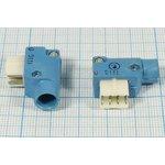 Фото 2/2 Прямоугольный соединитель штекер, 8C, 8 контактов, на кабель, угловой, РШ2НП-1-18