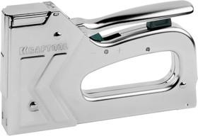 3185, Степлер KRAFTOOL повышенной мощности, 2-в-1, тип 140 (зеленая): 6-14мм, тип 300: 16мм