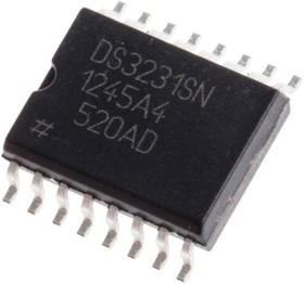 Фото 1/5 DS3231SN#T&R, Сверхточные RTC со встроенным I2C интерфейсом, ТСХО и резонатором,[SO-16W]