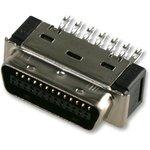 10150-3000PE, Разъем D Sub, Mini D (Ribbon Connector), Штекер, Серия 101 ...