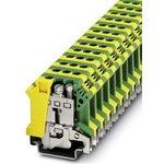 0443052, UISLKG 16 Series Earth Modular Terminal Block, Screw Down Termination