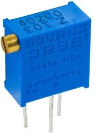 Фото 1/2 3296Z-1-105LF, 1 МОм, Резистор подстроечный