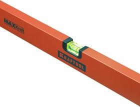 Фото 1/4 34577-080, Уровень KRAFTOOL коробчатый усиленный, точность (0,5мм/м), 2 ампулы, 80 см