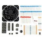 Фото 4/4 NM8017, Электронные часы на светодиодах с будильником и датчиком температуры - набор для пайки
