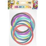 RU0147, Набор пластика для 3D-рисования 3D-Mix PCL