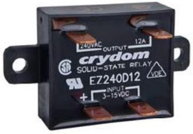EZ240D5, Solid State Relay 13mA 15V DC-IN 5A 280V AC-OUT 4-Pin
