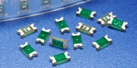 0468002.NRHF, Fuse Chip Slow Blow Acting 2A 63V SMD Solder Pad 1206 Epoxy T/R CSA