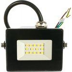 Прожектор СДО 06-10 светодиодный черный IP65 6500 K LPDO601-10-65-K02
