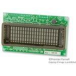 CU20045-UW5J, ВЛ-индикатор, точечно-матричный, 4 x 20 ...