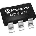 Фото 2/2 MCP73831T-2ACI/OT, Контроллер заряда батарей Li-Ion/Li-Pol 15mA to 500mA 4.2V [SOT-23-5]