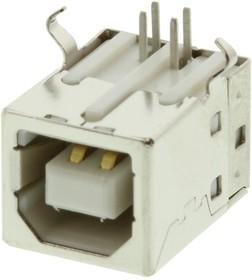 MC32596, Разъем USB-B 2.0, Гнездо, 4 вывод(-ов)