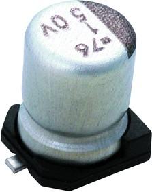 EMZA160ADA221MF80G, ALUMINUM ELECTROLYTIC CAPACITOR 220UF 16V 20%, SMD