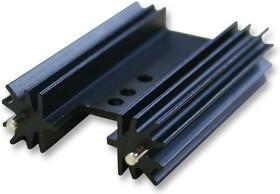 637-10ABEP, Теплоотвод, для силовых полупроводников уровня платы, 5.8 °C/Вт, TO-220, 34.9 мм, 25.4 мм, 12.7 мм