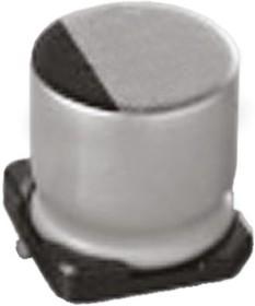 UUX1V221MNL1GS, Cap Aluminum Lytic 220uF 35V 20% (10 X 10mm) SMD 450mA 2000h 105C Automotive T/R