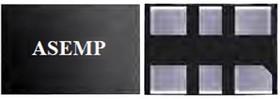 ASEMPC-100.000MHZ-LR-T, МЭМС кварцевый генератор, тактовый генератор, Pure Silicon™, 100 МГц, SMD, 3.2мм x 2.5мм, 25 млн-