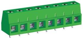 MC000039, Клеммная колодка типа провод к плате, 5.08 мм, 8 вывод(-ов), 26 AWG, 12 AWG, 4 мм², Винт