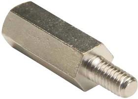 HMFB-8-1000A, Стойка, Латунь, 8-32, Шестигранная Штыревая-Гнездовая, 25.4 мм, 12.7 мм