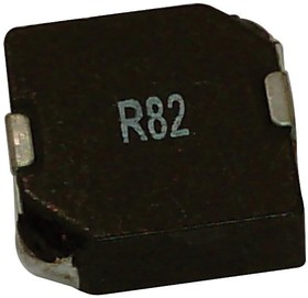 SRP7030-R82M, Силовой Индуктор (SMD), 820 нГн, 12 А, Экранированный, 14 А, Серия SRP7030, 7.6мм x 6.5мм x 3.2мм