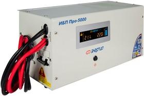 Фото 1/9 Инвертор (преобразователь напряжения) Энергия ИБП Pro 5000