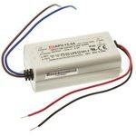 Фото 2/4 APV-12-24, AC/DC LED, 24В,0.5А,12Вт,IP42 блок питания для светодиодного освещения