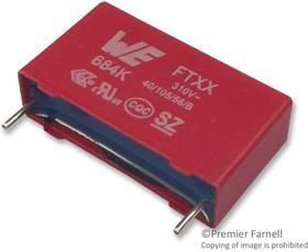 Фото 1/2 890334026030CS, Конденсатор Безопасности, 1.5 мкФ, Серия WCAP-FTXX, Metallized PP