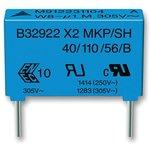 B32922D3334K000, Конденсатор Безопасности, 0.33 мкФ, X2 ...