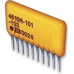 4608X-101-331LF, Фиксированный резистор цепи, 330 Ом, Серия 4608X ...