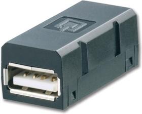 1019570000, Адаптер USB, Гнездо USB Типа A, Гнездо USB Типа A, IP67