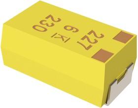 T490A107M006ATE800, Surface Mount Tantalum Capacitor, 100 мкФ, 6.3 В, 1206 [3216 Метрический], серия T490, ± 20%