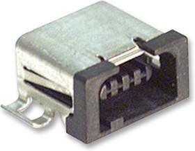 MQ172X-4PA(30), Разъем I/O, микроминиатюрный, 4 контакт(-ов), Гнездо, I/O, Поверхностный Монтаж, Серия MQ172