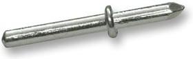 13.14.229, Столбик прессовой посадки/паечный, Неизолированный, 1.3 мм, Серебро, 11 мм, 4.5 мм