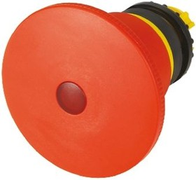 M22-PVLT60P, EMERGENCY STOP, ILLUMINATED, RED 60MM