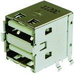 67298-4090, Составной USB разъем, USB Типа A, USB 2.0 ...