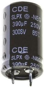 ECAP (К50-35), 15000 мкФ, 35 В, 105°C, SLPX153M035C9P3, Конденсатор электролитический алюминиевый