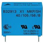 B32912B3224M000, Конденсатор Безопасности, 0.22 мкФ, X1 ...