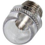 131A-303C, INDICATOR LIGHT, FLANGE, TRANS CLEAR, 2W