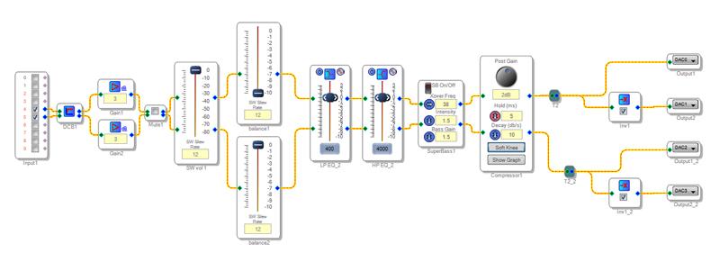 Схема ADAU1701