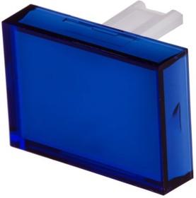 S50-002-31, Rectangular blue lens for