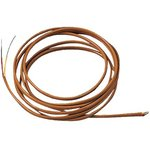 5TC-GG-J-20-72, THERMOCOUPLE WIRE, TYPE J, 20AWG, 2M