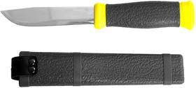"""47630, Нож STAYER """"PROFI"""", туристический, пластиковые ножны, лезвие-110мм"""