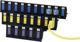 MBS-08, BEZEL STRIP MOUNTING, THERMOCOUPLE CONN
